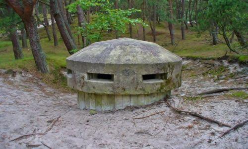 POLSKA / Kaszuby / Jastarnia / Hel, bunkier jednoosobowy