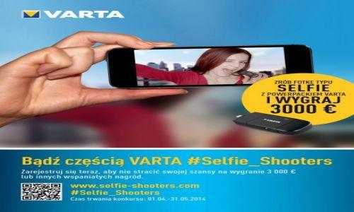 POLSKA / --- / --- / Międzynarodowy konkurs VARTA Selfie Shooters