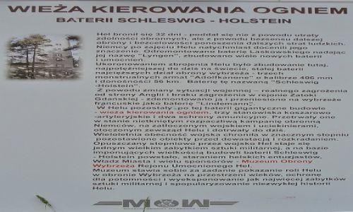 POLSKA / Kaszuby / Hel / Hel, fortyfikacje - wieża do wyznaczania celów