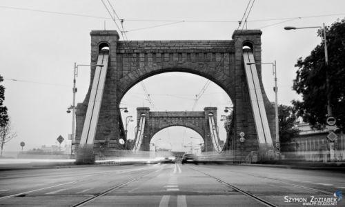Zdjęcie POLSKA / Dolny Śląsk / Wrocław / Most Grunwaldzki
