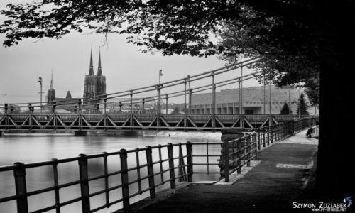 Zdjecie POLSKA / Dolny Śląsk / Wrocław / Most Grunwaldzki
