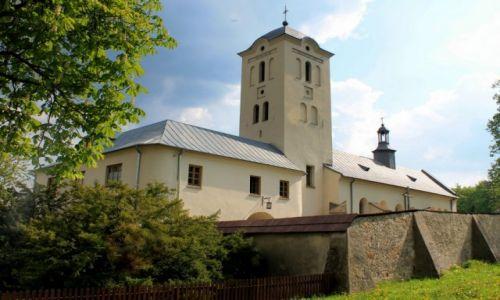 Zdjecie POLSKA / .świętokrzyskie / zabudowania klasztorne / Klasztor w Swiętej Katarzynie