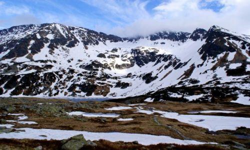 Zdjecie POLSKA / Tatry Wysokie / Dolina Pięciu Stawów / Szpiglasowa Przełęcz pod chmurami