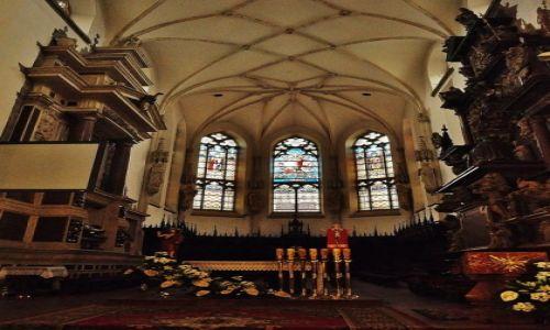 Zdjęcie POLSKA / Małopolska / Tarnów / Tarnów - katedra, prezbiterium