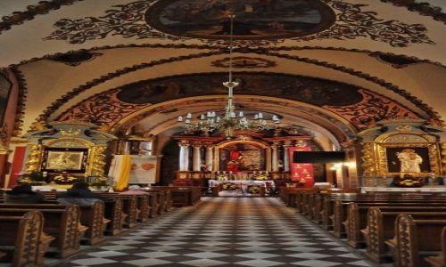 Zdjęcie POLSKA / Podkarpacie / Sanok / Sanok, kościół franciszkański