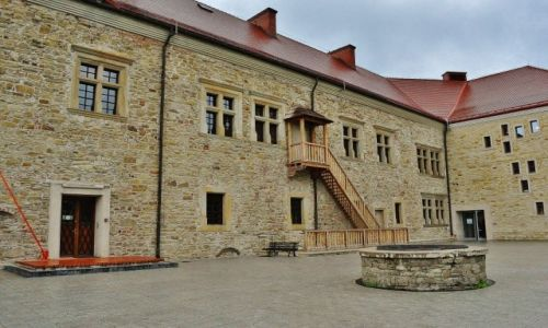 Zdjęcie POLSKA / Podkarpacie / Sanok / Sanok, zamek