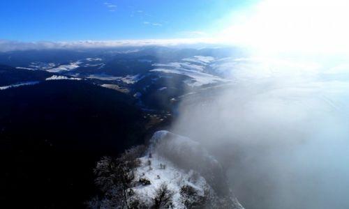 Zdjecie POLSKA / Pieniny  / Trzy Korony / Z głową w chmurach...