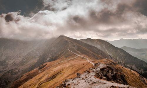 Zdjecie POLSKA / Tatry / Czerwone Wierchy / W stronę chmur......