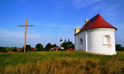 Zdjecie POLSKA / Podlaskie / Goniądz / Goniądz ze wzgórza