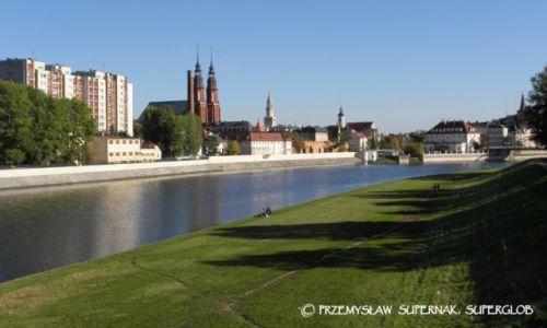 Zdjęcie POLSKA / Opolszczyzna / Opole / Nad Odrą