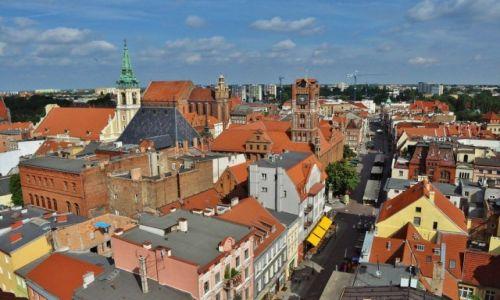 Zdjęcie POLSKA / Kujawsko-Pomorskie / Toruń / Toruń, widok na stare miasto