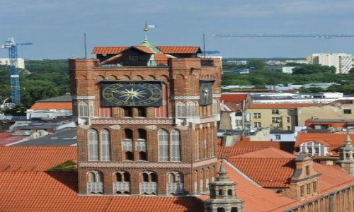 Zdjęcie POLSKA / Kujawsko-Pomorskie / Toruń / Toruń, Ratusz, wieża