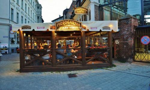 POLSKA / Kujawsko-Pomorskie / Toruń / Toruń, najlepsze pierogi na świecie