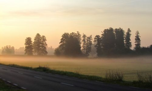 Zdjecie POLSKA / Mazowieckie / Ulica / W drodze do pracy... Poniedziałkowy poranek