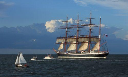 Zdjęcie POLSKA / Pomorze / Zatoka Gdańska / STS Siedow (STS Sedov) - rosyjski czteromasztowy bark