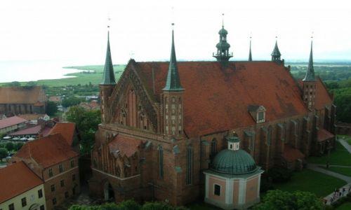 Zdjęcie POLSKA / Warmińsko - mazurskie / Frombork / Fromborska katedra
