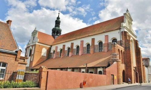 POLSKA / Kujawsko-Pomorskie / Koronowo / Koronowo, dawne opactwo