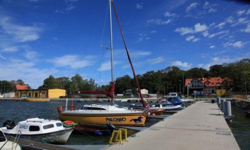 POLSKA / Woj. warmińsko-mazurskie / Tolkmicko / Port żeglarski w Tolkmicku