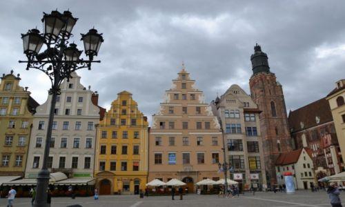 Zdjęcie POLSKA / Dolny Śląsk / Wrocław / Kamienice w rynku