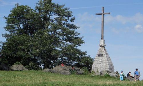 Zdjęcie POLSKA / Dolny Sląsk / Ślęża / na szczycie
