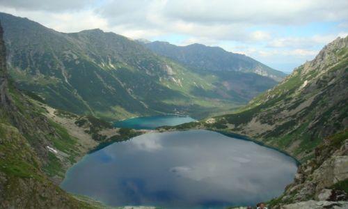 Zdjecie POLSKA / Tatry / Tatry / widok na dwa jeziorka