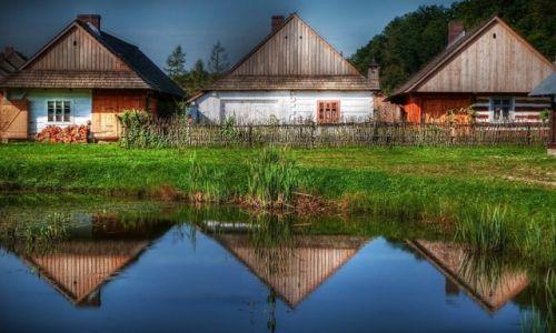 Zdjecie POLSKA / podkarpacie / Sanok / Trzy znad wody