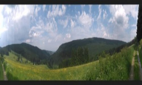 POLSKA / Beskid Mały / Beskid Mały / Bieszczady- Karkonosze (panorama Beskidu)