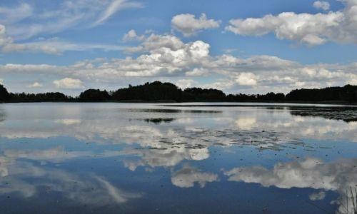 POLSKA / Kujawsko-Pomorskie / Nowy Jasiniec / Nowy Jasiniec, jezioro zamkowe