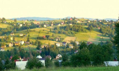 Zdjęcie POLSKA / Beskid Śląski / ISTEBNA / ISTEBNA O ZACHODZIE