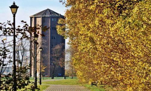 Zdjęcie POLSKA / Kuj-pom. / Inowrocław / Wieża kolejowa
