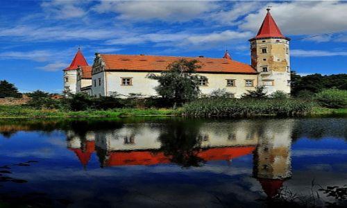 Zdjęcie POLSKA / Dolny Śląsk / Stoszowice k.Ząbkowic Śląskich (niem. Frankenstein) / Pałacyk