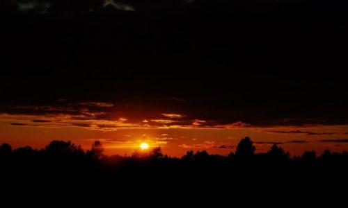Zdjęcie POLSKA / Kaszuby / Kaszuby / Kaszuby, zachód słońca