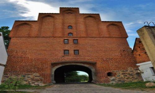POLSKA / Kujawsko-Pomorskie / Bierzgłowo / Bierzgłowo, zamek Krzyżacki