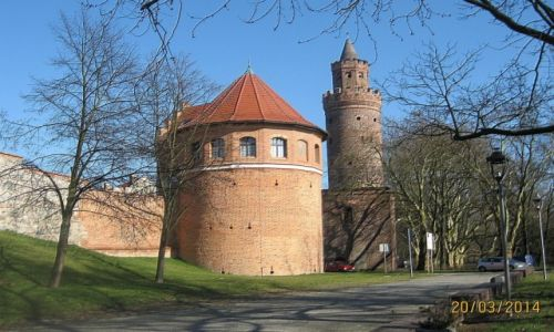 Zdjecie POLSKA / zachodniopomorskie / STARGARD / Basteja i Baszta lodowa