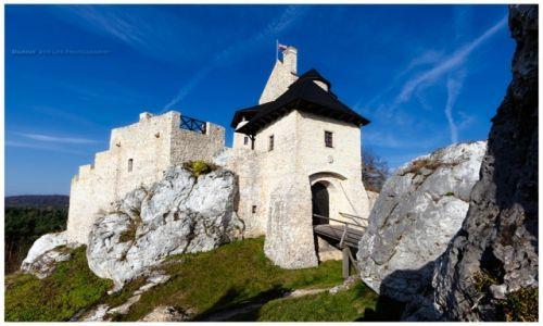 Zdjęcie POLSKA / Jura Krakowsko-Częstochowska / Bobolice / Bobolice Castle I
