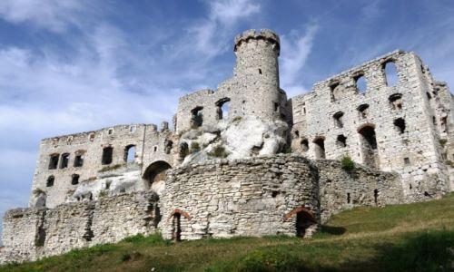 Zdjecie POLSKA / Jura / Podzamcze / Ogrodzieniec, zamek