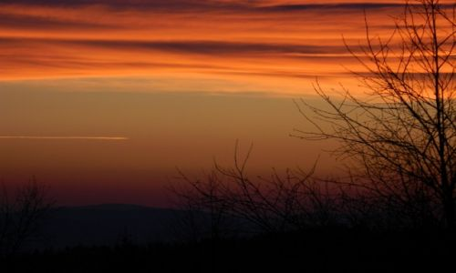 Zdjecie POLSKA / Beskid / leskowiec 24.12.14. / LESKOWIEC... zachód słońca