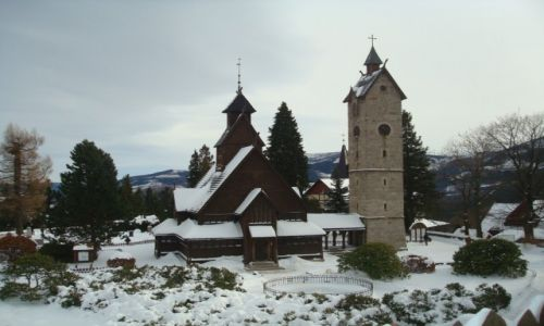 Zdjecie POLSKA / Karkonosze / Karpacz / Świątynia Wang