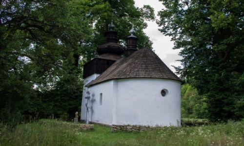 Zdjecie POLSKA / Beskid Niski / Izby / Cerkiew w Bielicznej