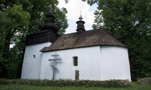 Zdjęcie POLSKA / Beskid Niski / Izby / Cerkiew w Bielicznej