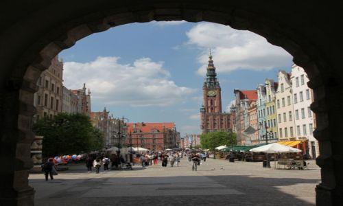 Zdjęcie POLSKA / Gdańsk / Zielona Brama / Długi Targ