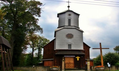 Zdjęcie POLSKA / Podkarpacki / Klimkówka / Kościół drewniany