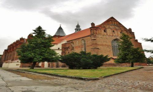 POLSKA / Kujawsko-Pomorskie / Chełmno / Chełmno, Kościół Wniebowzięcia Najświętszej Maryi Panny.