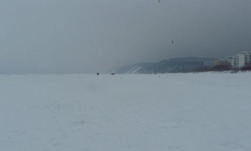 Zdjecie POLSKA / Międzyzdroje / plaża / to była zima...