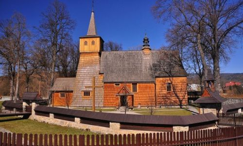 Zdjecie POLSKA / Małopolska / Gorce   / Architektura drewniana