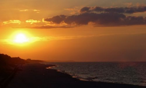 Zdjęcie POLSKA / Kaszuby / Jastarnia / Jastarnia, zachód słońca
