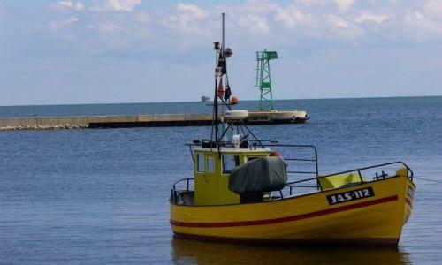 Zdjęcie POLSKA / Kaszuby / Jastarnia / Jastarnia, port