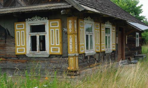 POLSKA / Podlasie / Narew / Kraina Otwartych Okiennic