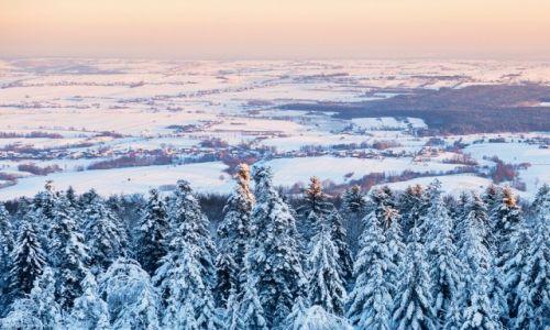 Zdjęcie POLSKA / świętokrzyskie / Święty Krzyż / widok ze Świętego Krzyża