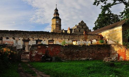 Zdjęcie POLSKA / Dolny Śląsk / Gorzanów / Pałac